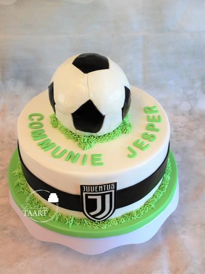 Voetbal Juventus taart