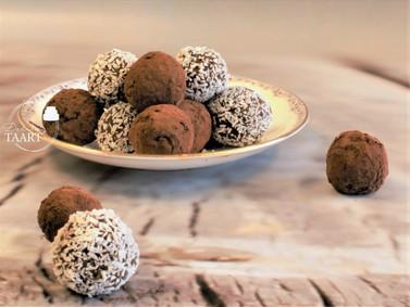 Dadel truffels