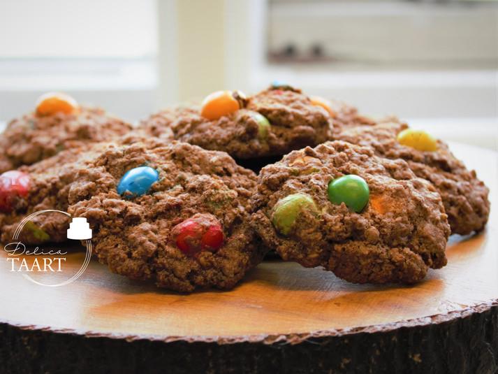 Havermout M&M koekjes