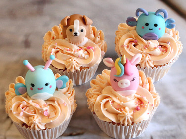 Squismellow cupcakes