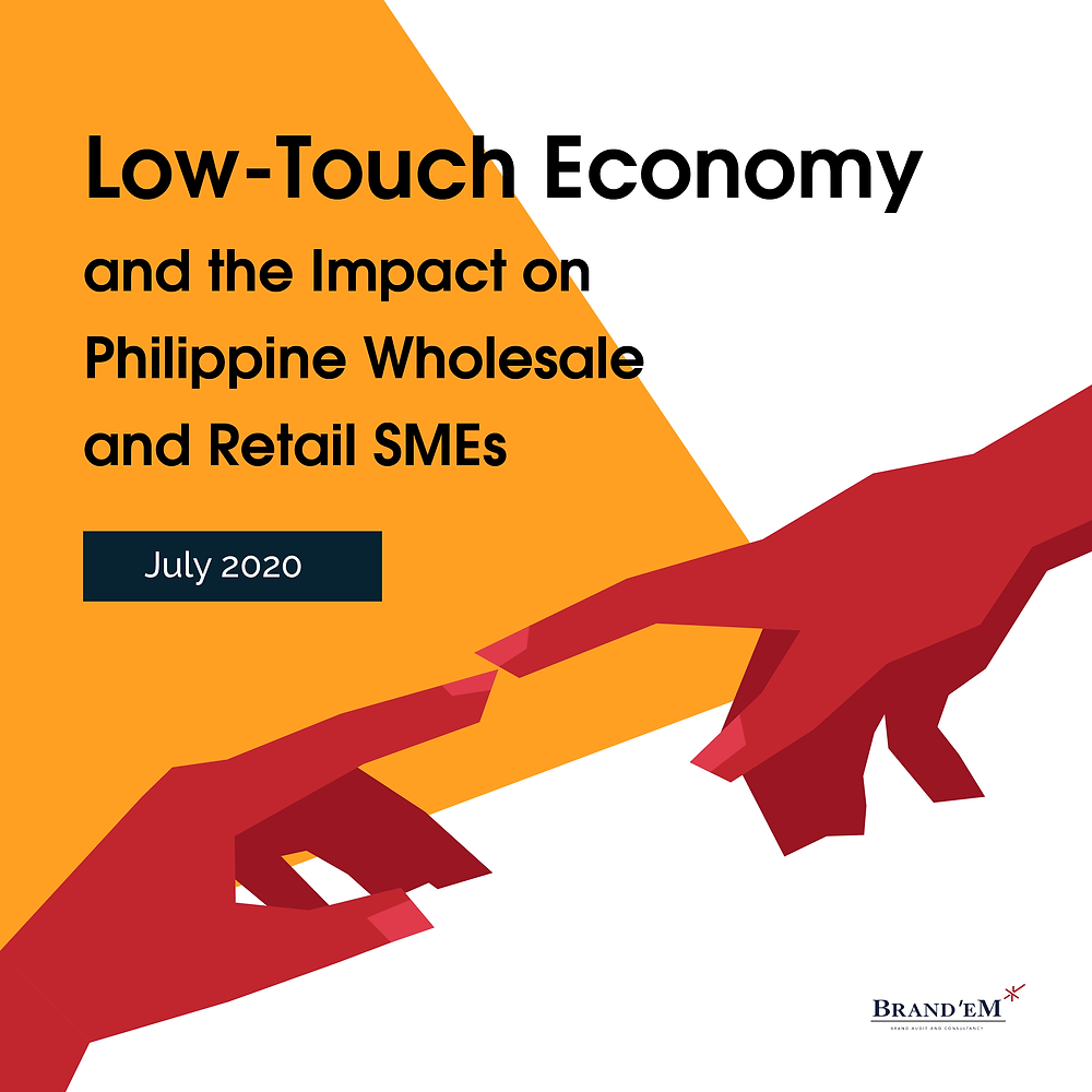 Low-Touch Economy and the impact to Philippine Wholesale and Retail SMEs