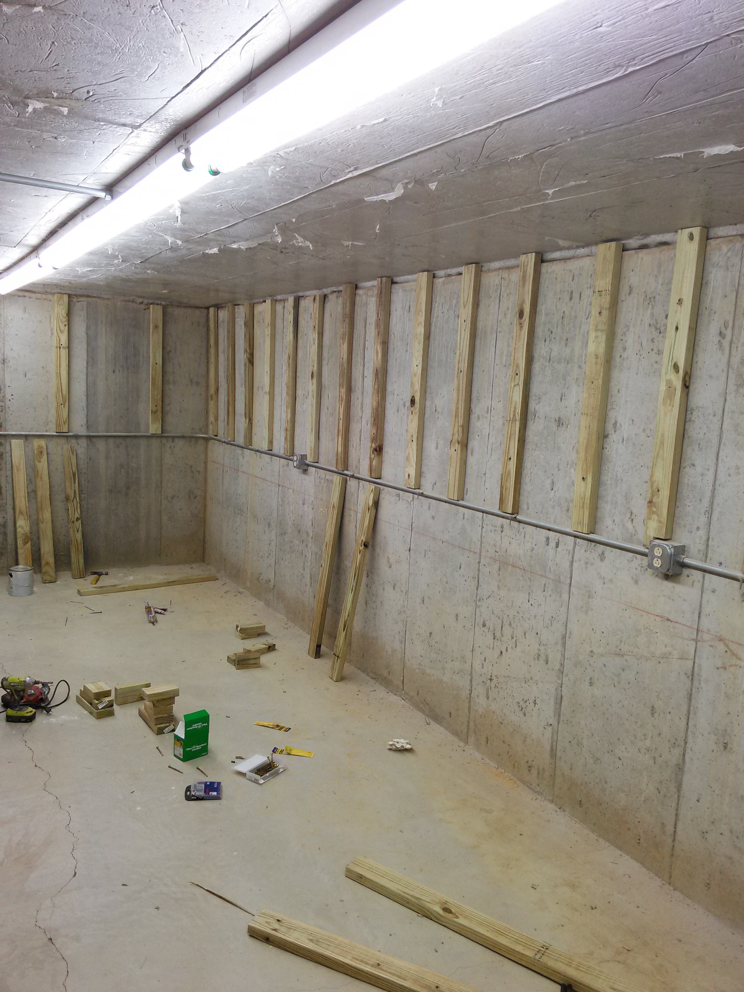 Williamstown KY Basement reno 2016