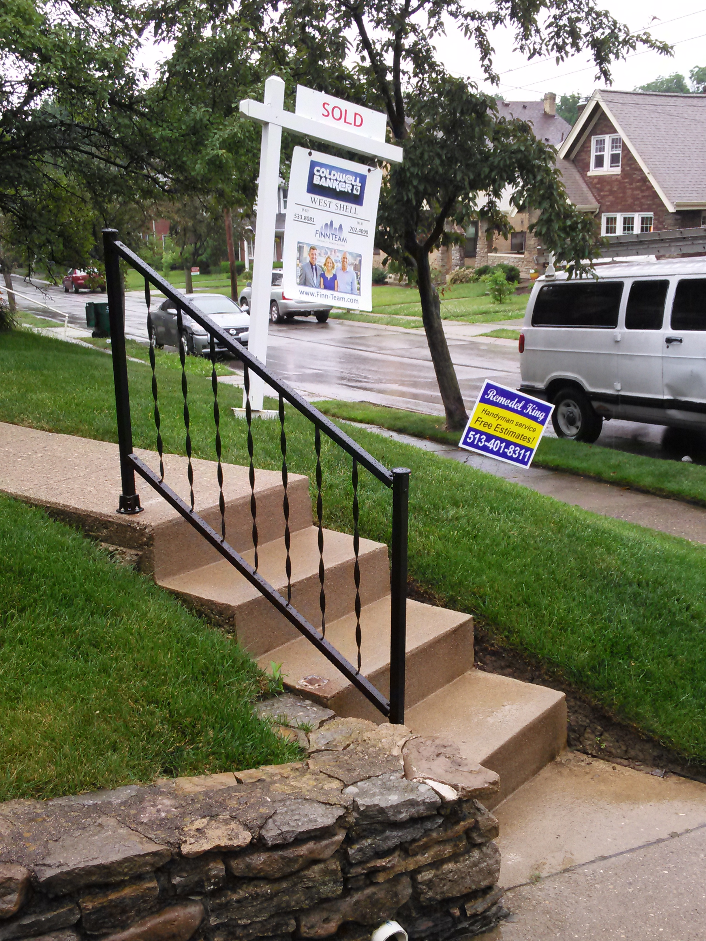 Installed New Handrail
