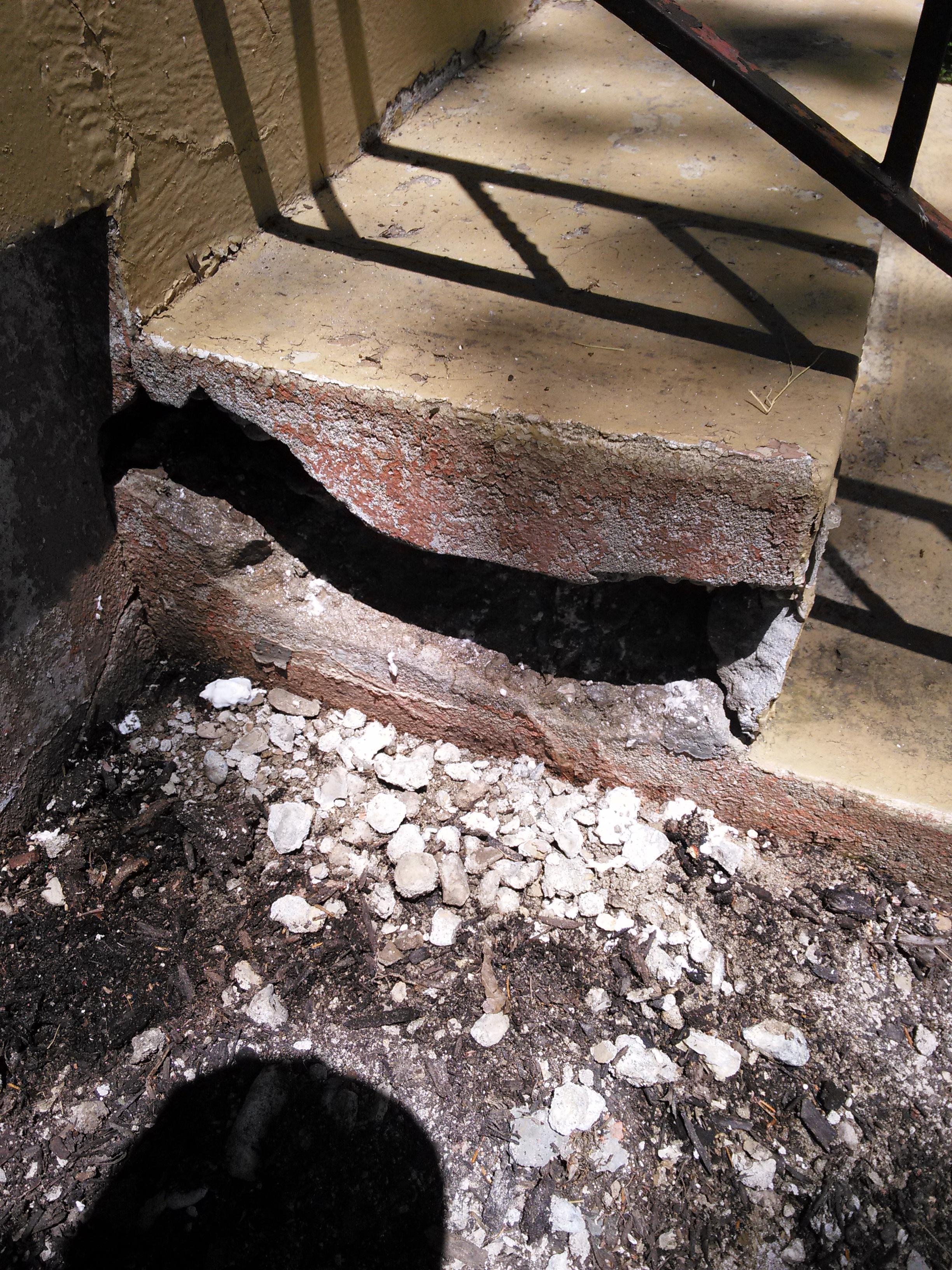 Pleasant Ridge Concrete Repair 2015