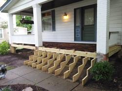 Pleasant Ridge Porch Build 2016