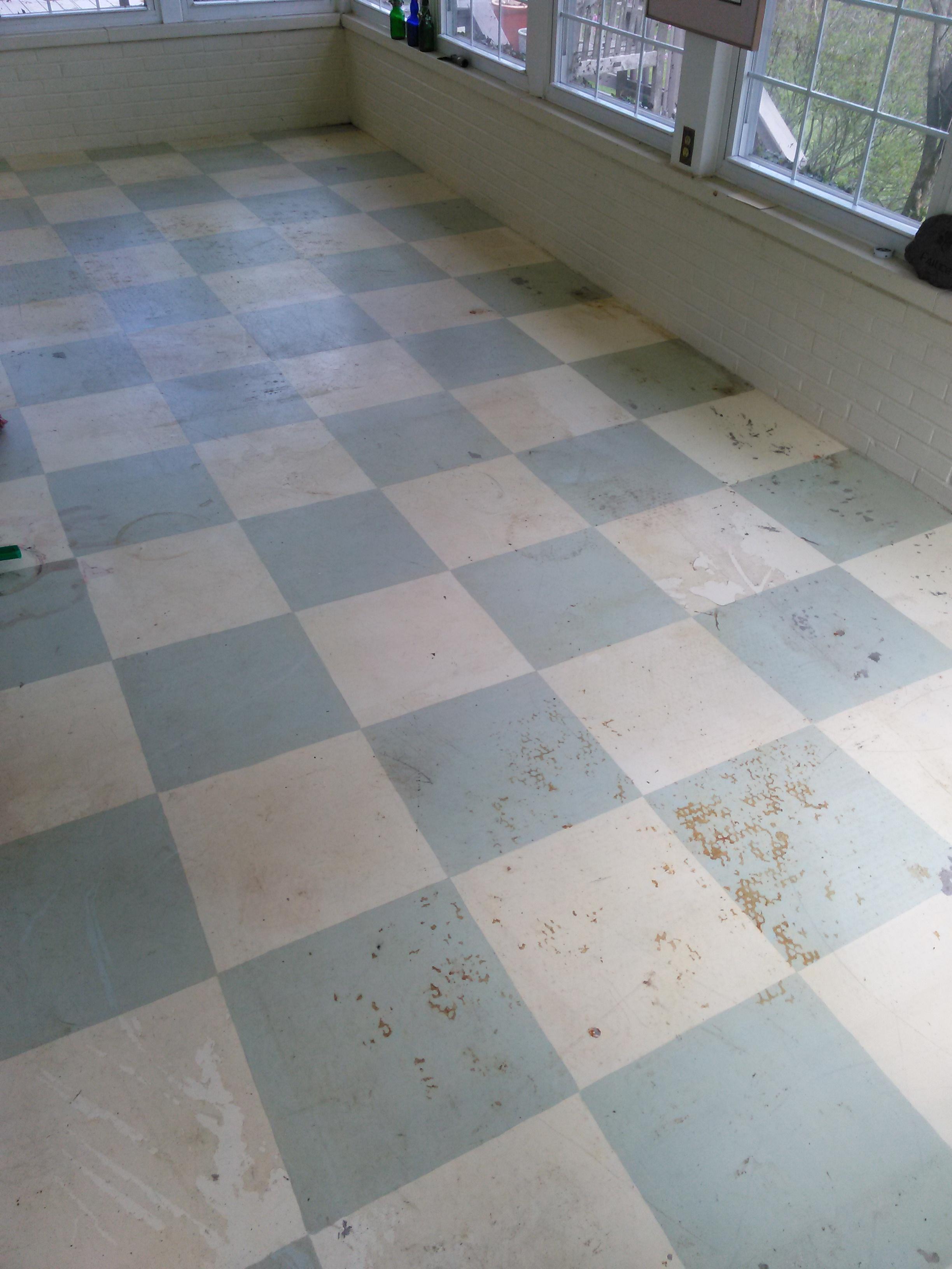 Interior Floor paint Job