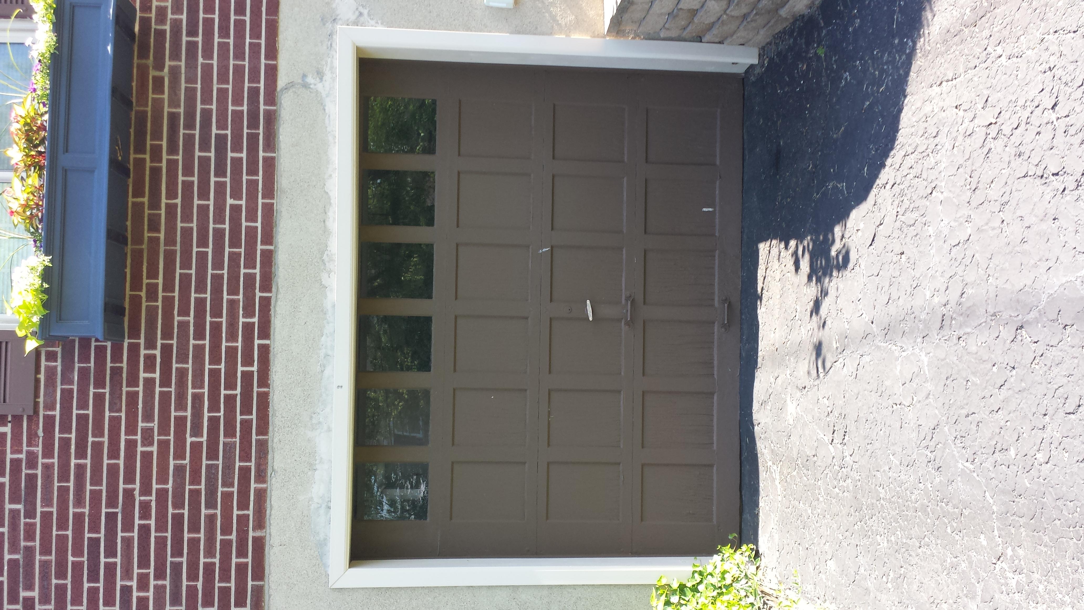 Garage Door Paintt Job