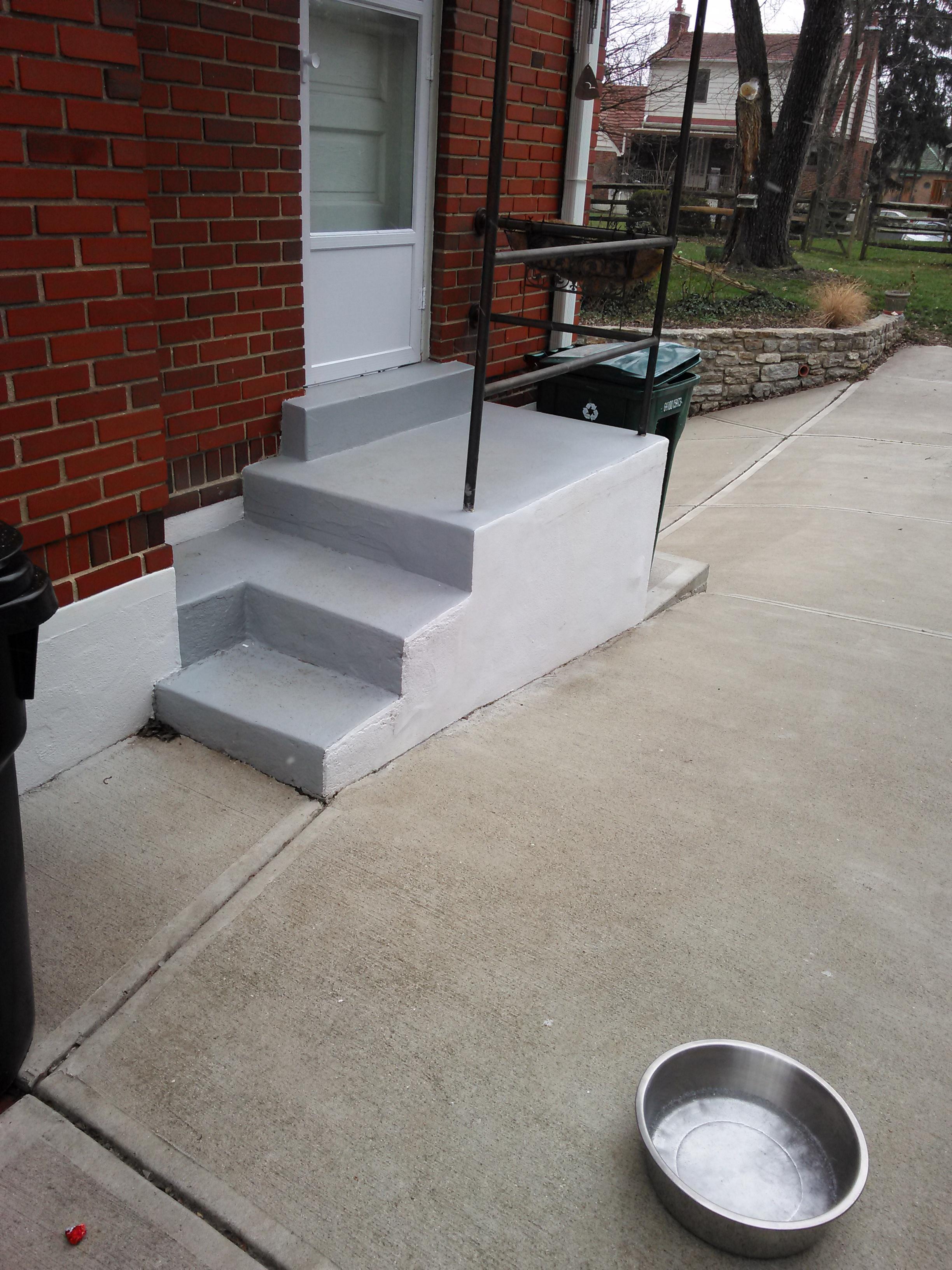 Concrete Step Repair 2016