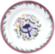 Тарелка Синий герб