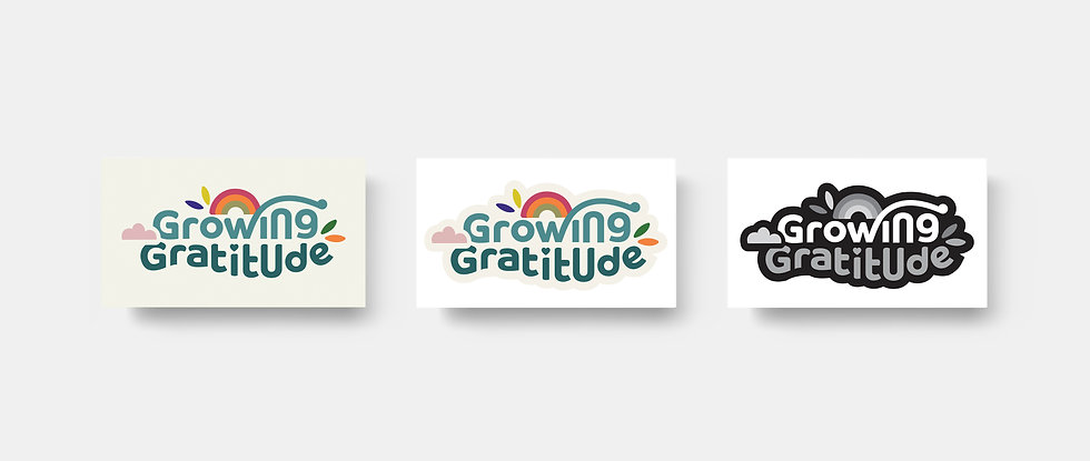 Logo versions _ company logo | Colourful