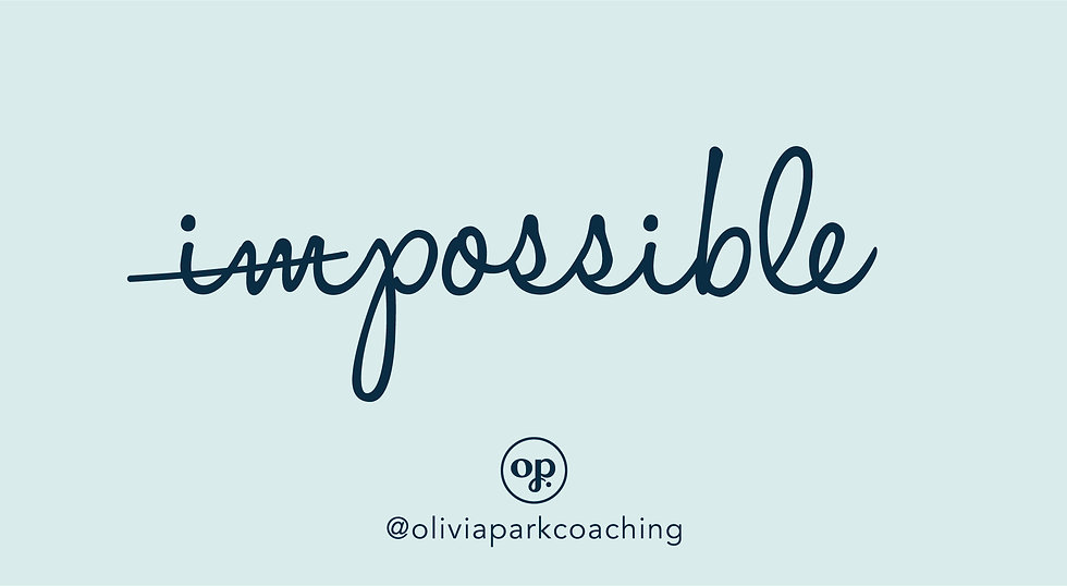 Olivia Park Coaching Brand Identity Desi