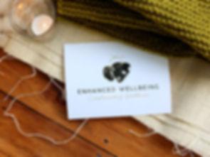 Enhanced Wellbeing Logo Organic Lines 3.