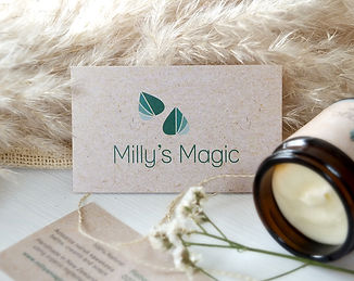 Millys Magic Business Card Design DSCF05
