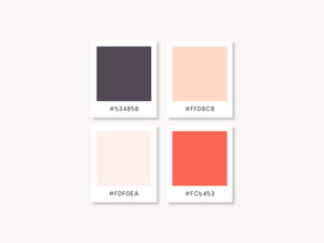 Finding the perfect colours that reflect your brand