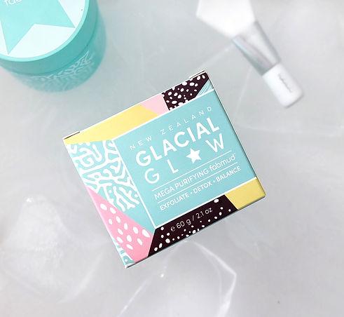 Glacial Glow Product Design Organic Line