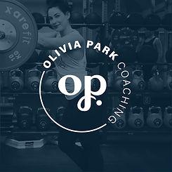 Social Media Olivia Park Logo Coaching l