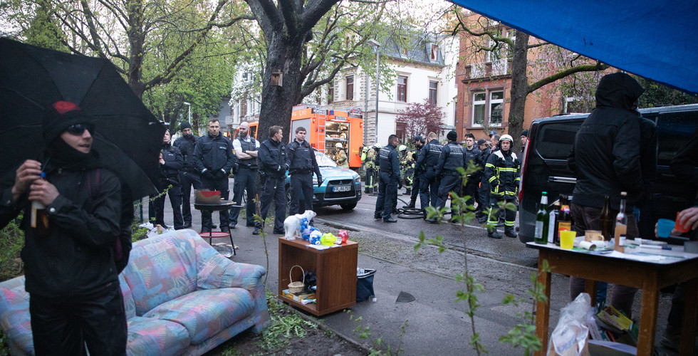 Police presence intensifies