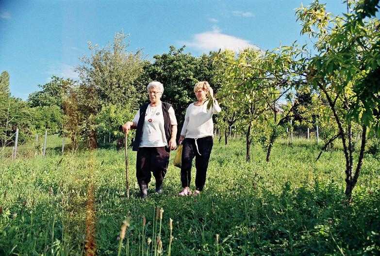 Milena with her Daughter, Branka