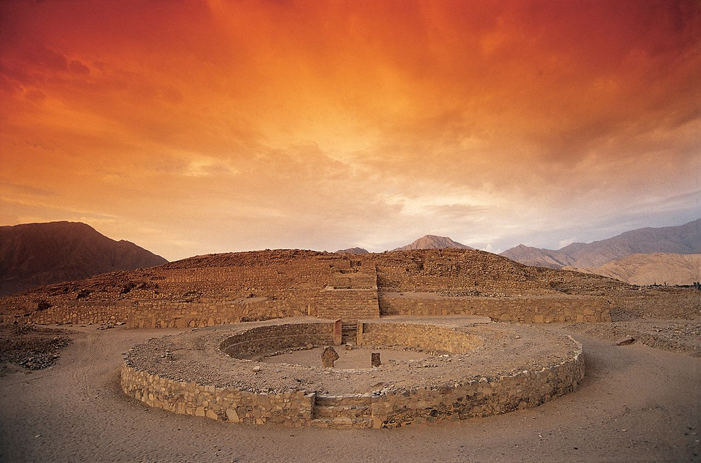 Caral is an exceptionally well-preserved archaeological site