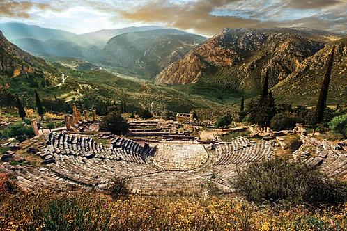 Sanctuary of Apollo, Delphi, Oct 7