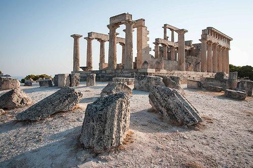 Temple of Aphaia, Aegina Island, Oct 7