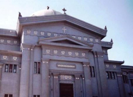 Θυρανοίξια Ιερού Ναού Αγίου Κωνσταντίνου στο Κάιρο.