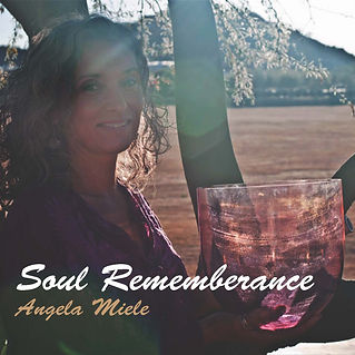 sound healing meditation, CD, Angela Miele, Soul Remembrance, soul activation