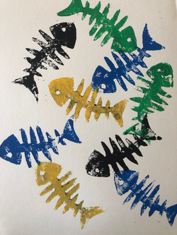 Fish-Bone-Prints