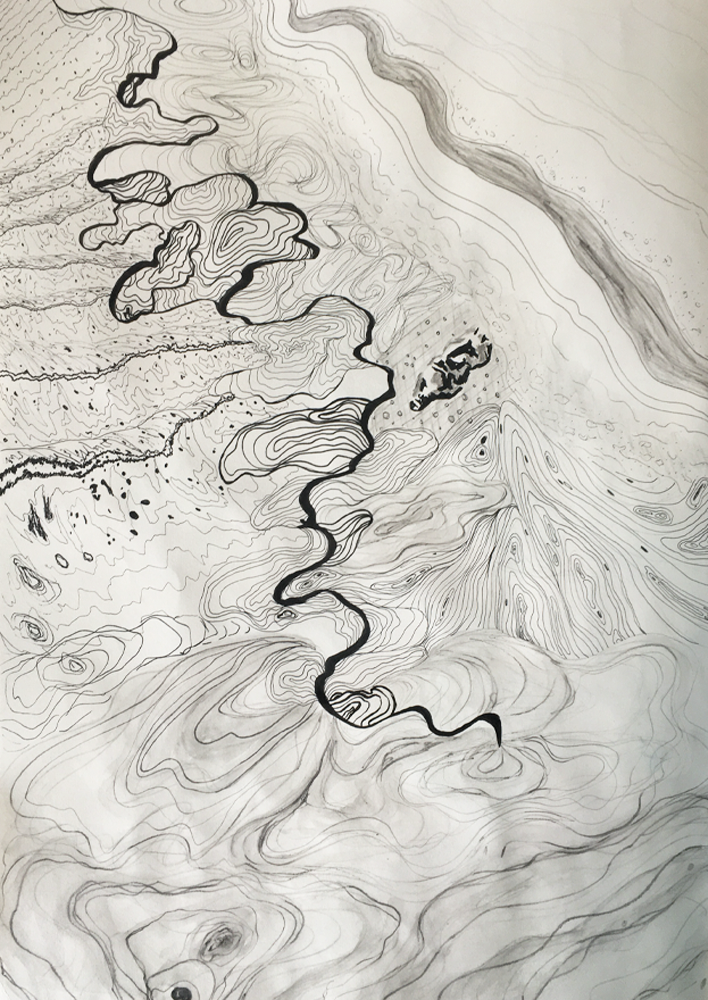 Sketchbook Exploration of Water Waves an
