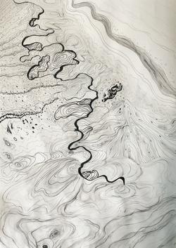 Sketchbook Exploration of Water Waves an