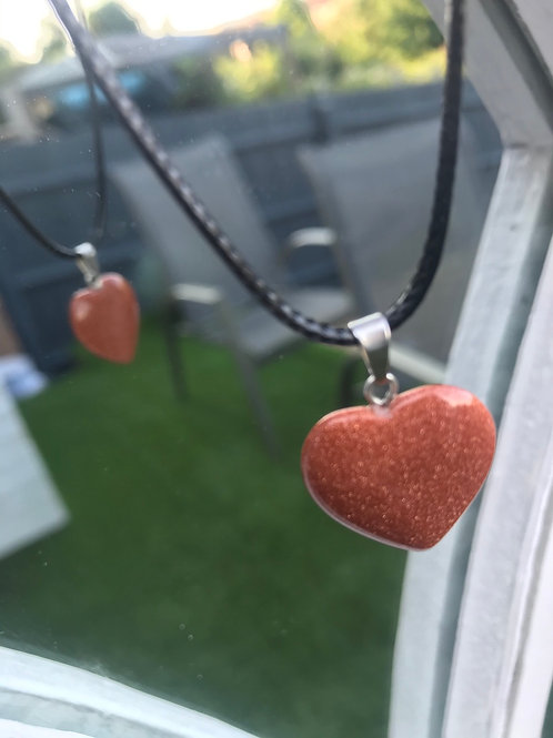 Sandstone Heart Necklace