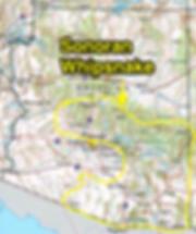 Sonoran Whipsnake range