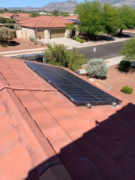 Solar Panel Screen