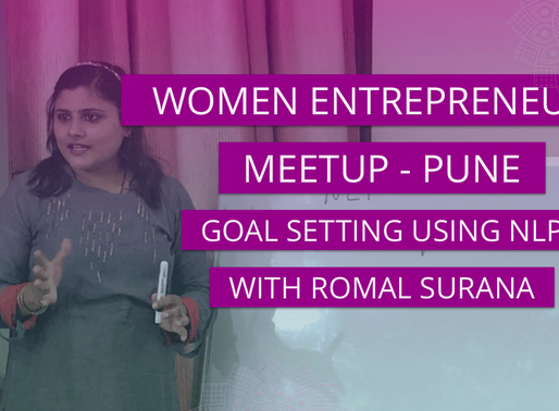 GOAL SETTING USING NLP WITH ROMAL SURANA