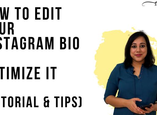 How to edit your Instagram bio (Tutorial & Tips)