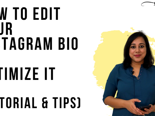 How to edit your Instagram bio (Tutorial & Tips)