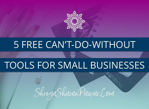 5 FREE  CAN'T-DO-WITHOUT TOOLS FOR SMALL BUSINESSES IN INDIA