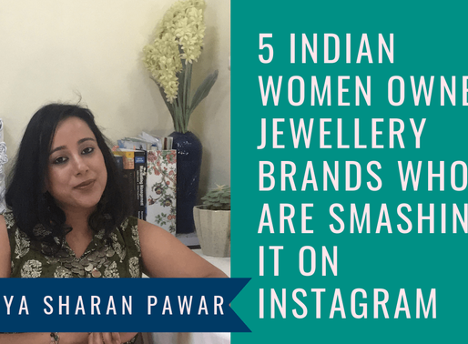 5 Women Owned Jewellery Brands Who Are Smashing it On Instagram – Indian Women Entrepreneurs