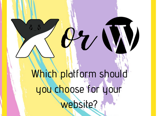 Quick Tip - Wix or Wordpress: Which platform should you choose for your website?