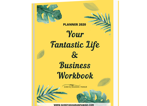 Your Fantastic Life & Business Workbook (Planner for 2020) - Digital Version