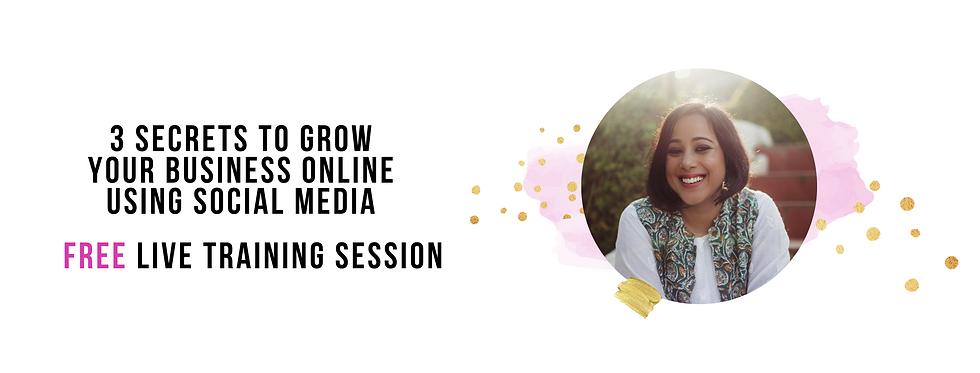 3 Secrets To Grow Your Business Online U