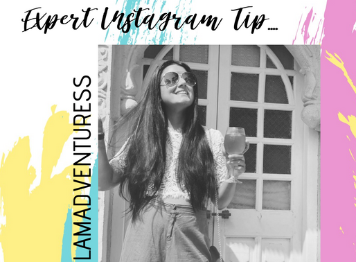 Instagram Tips by Travel Blogger Navneet (Glam Adventuress)