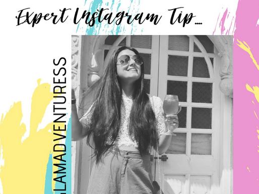 Instagram Tips by Travel Blogger Navneet (Glam Adventuress)