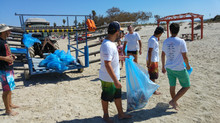 גם אנחנו מצטרפים ליום ניקוי החופים הבין לאומי