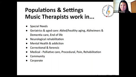 How does music therapy work? How does music therapy work with different populations and settings?