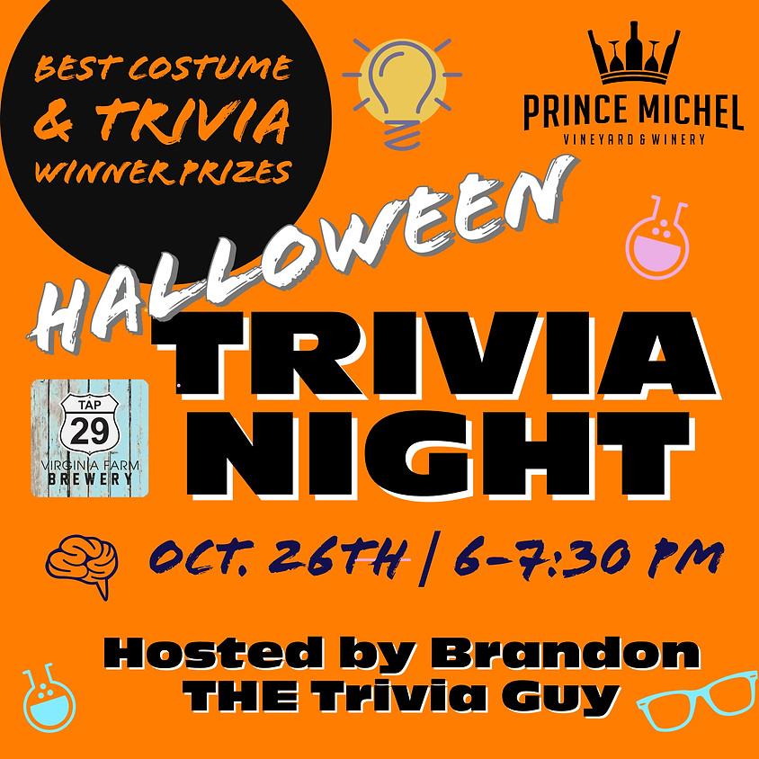 Trivia Night - Halloween Themed!