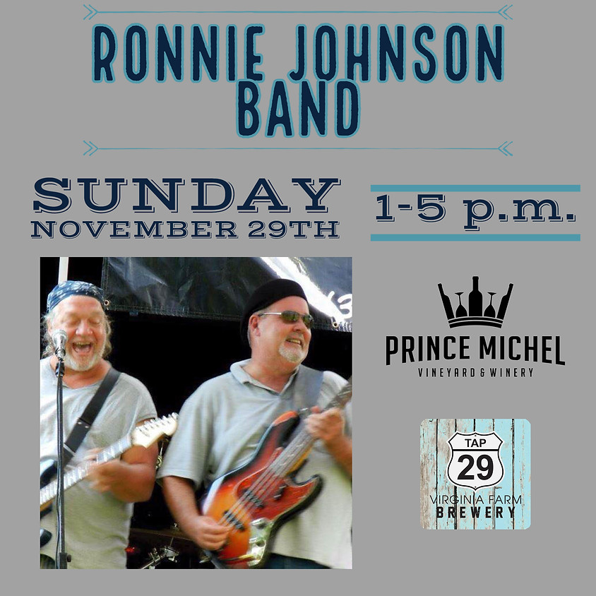 The Ronnie Johnson Band!
