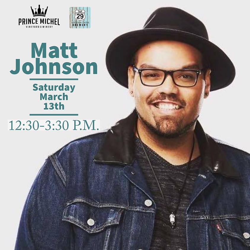 Matt Johnson Live!