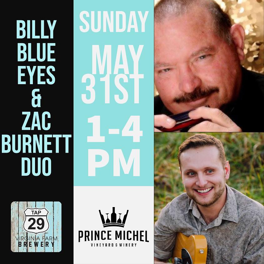 Billy Blue Eyes & Zac Burnett Duo