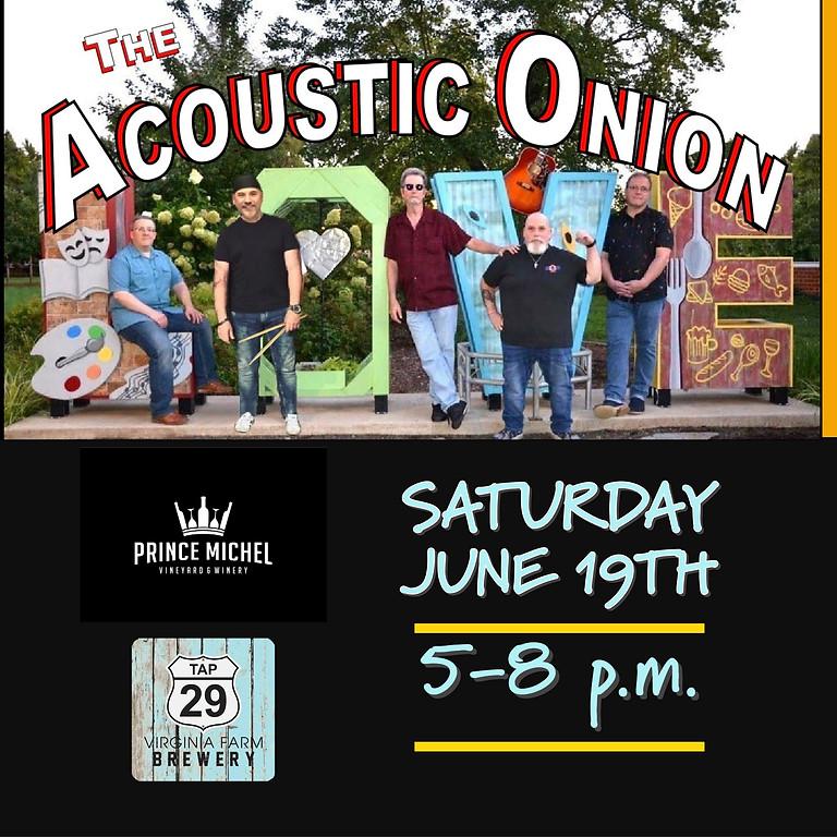 Acoustic Onion Live!